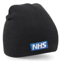 Embroidered Beanie NHS