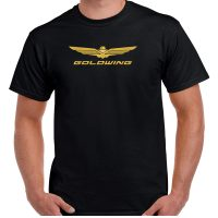 Honda Goldwing Embroidered T-Shirt