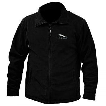 Jaguar Embroidered Fleece Jacket