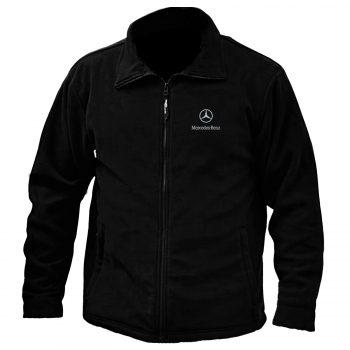 Mercedes Embroidered Fleece Jacket