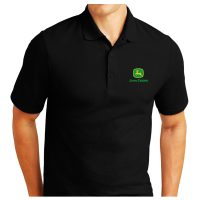 John Deere Embroidered Polo Shirt