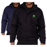 John Deere Embroidered Waterproof Jacket