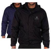 Mercedes Embroidered Waterproof Jacket