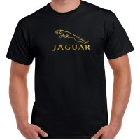 Golden Jaguar Embroidered T-shirt