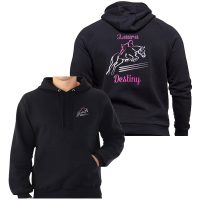 Jumping Horse Embroidered Hoodie
