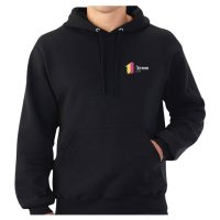 Hoodie Embroidered With Company Logo