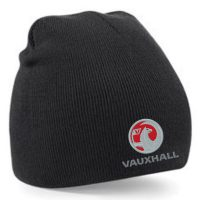 Embroidered Beanie B44 Vauxhall black