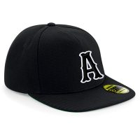 Embroidered Black B660 3D Letter A